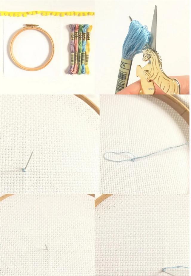 曾经的十字绣,别再闲置压箱了,学会这几种绣法,重新拿出来绣