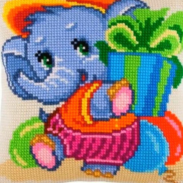 海量卡通十字绣图案,缝在宝宝毛衣上超漂亮,附图解,可打印