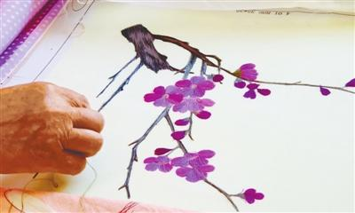 免费刺绣培训班开始招生了 30多种传统针法等你来学习