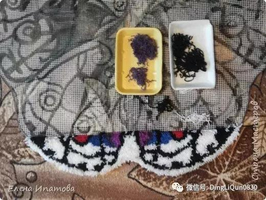 「刺绣教程」段段绣基础及蝴蝶地毯的详细制作过程