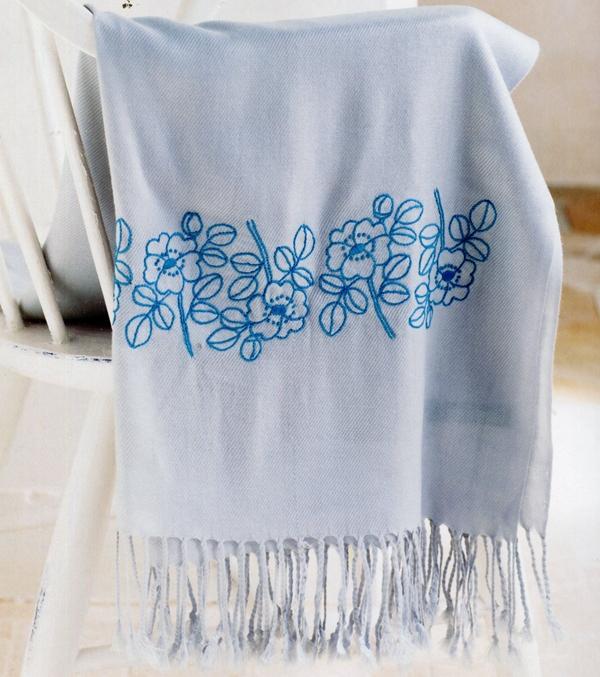 手工刺绣:22款刺绣小物,美得不要不要的,你还说学刺绣没用吗