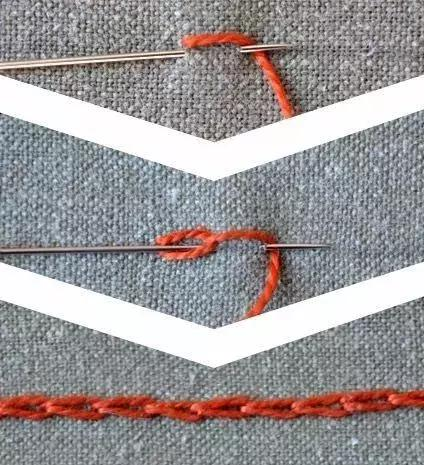 学刺绣,这6种刺绣针法还是要会的,零基础入门(附图解)