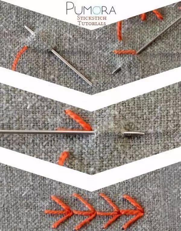 手工刺绣视频教程